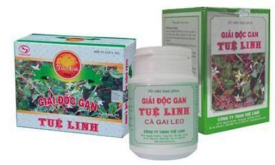 giai doc gan tue linh Ra đời sản phẩm mới bảo vệ và phục hồi chức năng gan