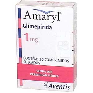 AMARYL 1MG Amaryl