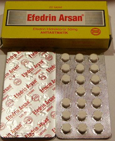 Efedrin Arsan Ephedrin Ephedrine Hcl Tab1 Ephedrin