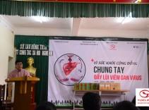 Công ty TNHH Tuệ Linh: Chung sức vì cộng đồng, chung tay đẩy lùi Viêm gan virus B