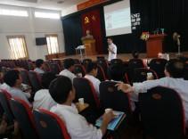 Công ty TNHH Tuệ Linh tổ chức các hoạt động nâng cao nhận thức trong việc chăm sóc, bảo vệ sức khỏe cho cán bộ Hội nông dân thành phố Hà Nội